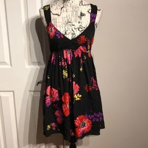 Dresses & Skirts - Floral Open Back Fit Flare Casual Party sleeveless